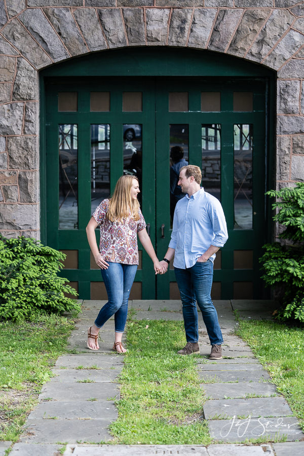 Boathouse Row Schuylkill River Trail Couples Portraits