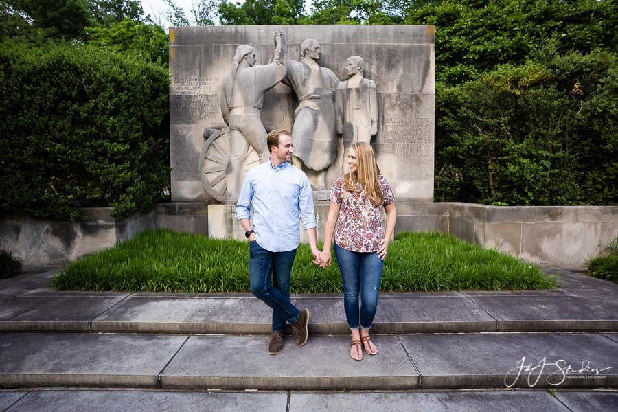 Boathouse Row Kelly Drive Engagement