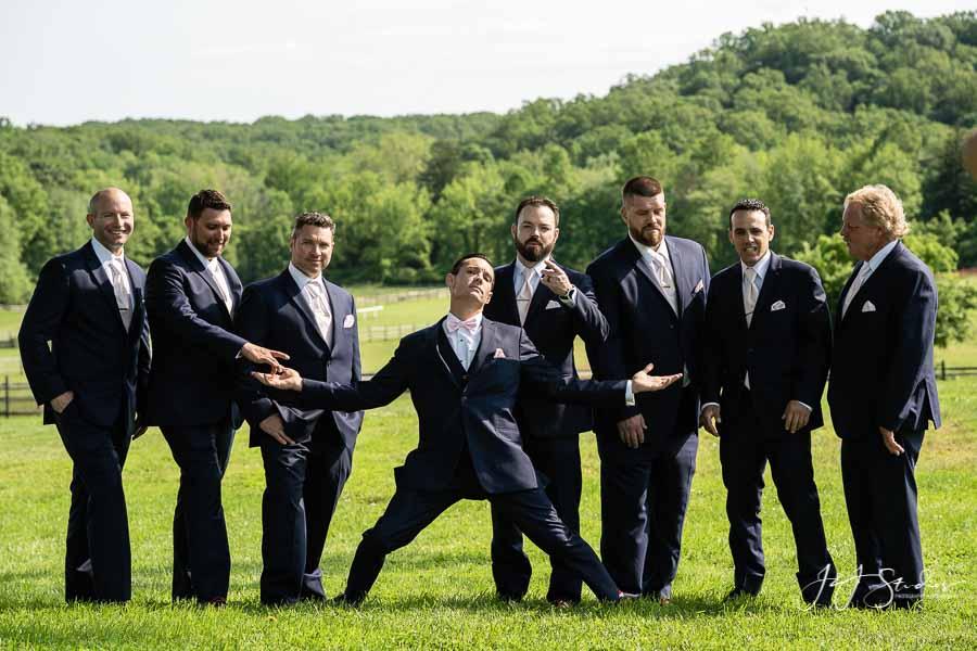 navy blue tuxedo radnor hunt wedding