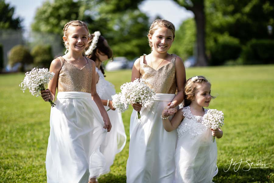 wedding procession radnor hunt