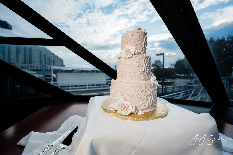 Bredenbeck's Bakery cake philadelphia freedom elite yacht wedding
