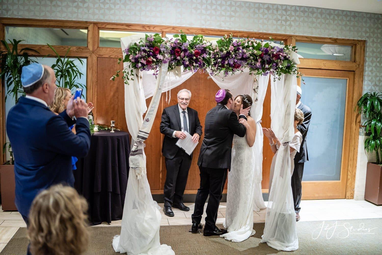 first kiss ceremony at zahav