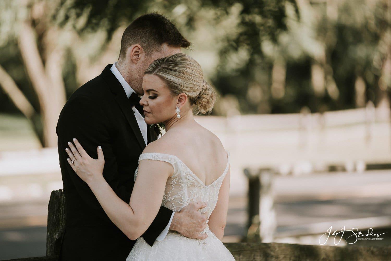 bride and groom portraits nj wedding