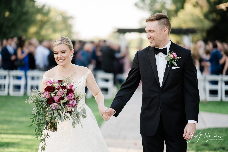 bride and groom ramblewood country club photo by john ryan