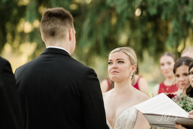 bride crying ramblewood country club