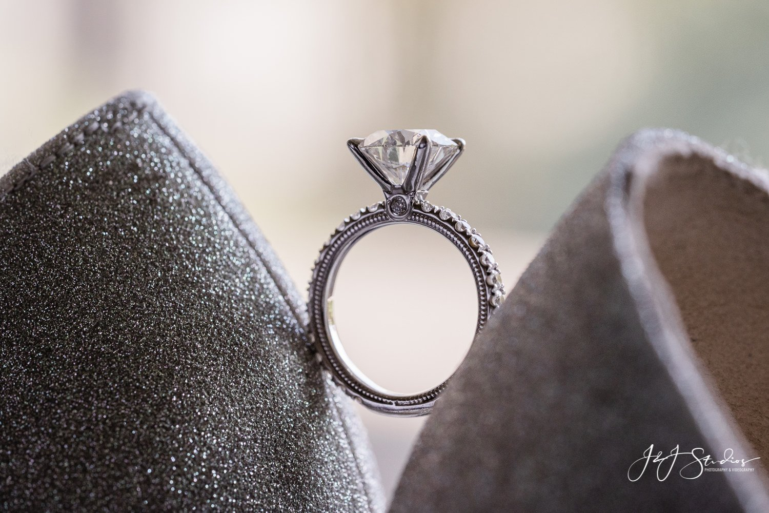 engagement ring by verragio