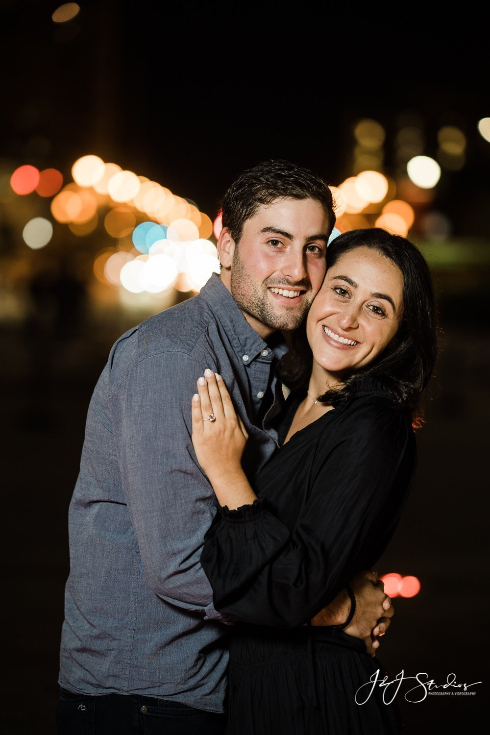 engaged philly couple