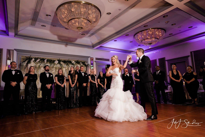 first dance rittenhouse hotel wedding