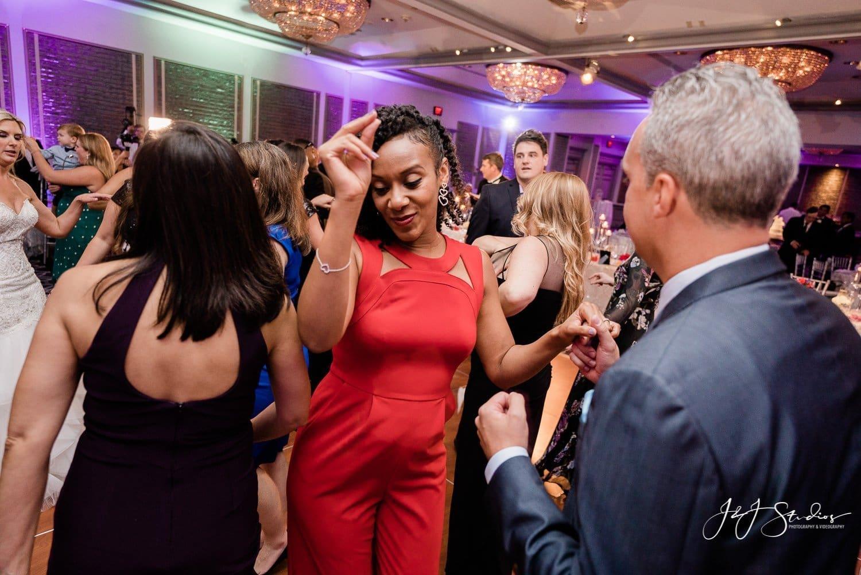 dancing wedding reception rittenhouse hotel photo by john ryan J&J studios