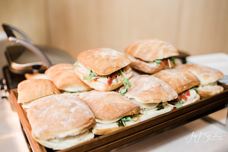 panini bar at rittenhouse hotel wedding