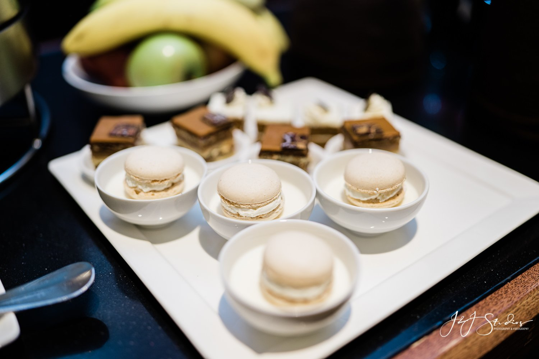 dessert macaroons rittenhouse hotel wedding