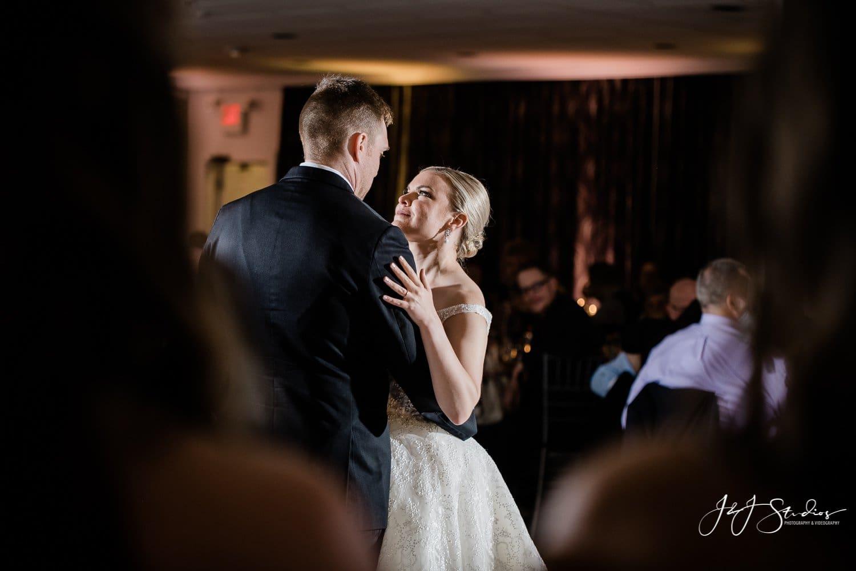 couples first dance nj wedding photographer