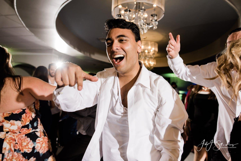 drunken reception groomsmen