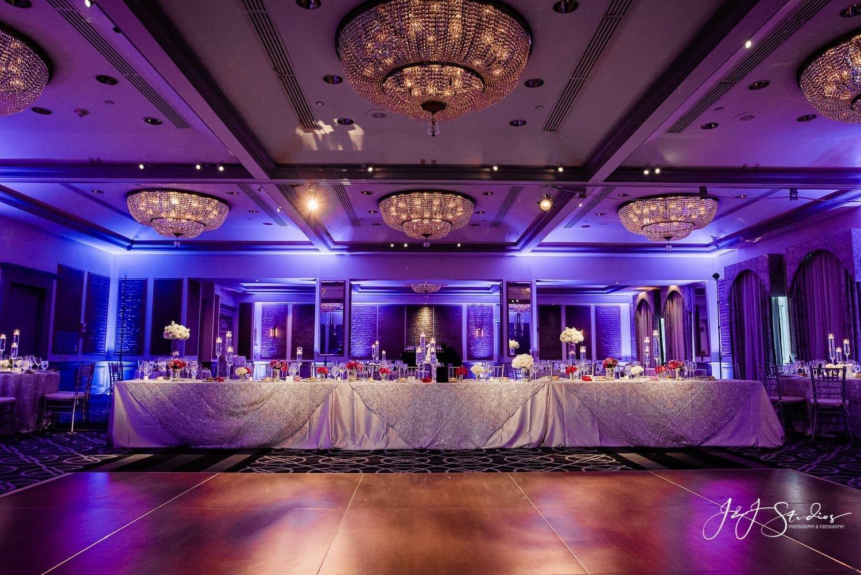 rittenhouse hotel wedding reception decor