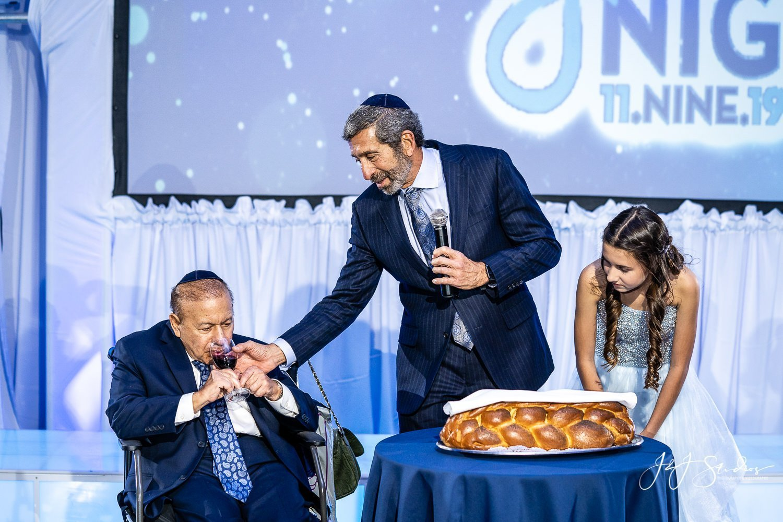 breaking bread blessing bat mitzvah