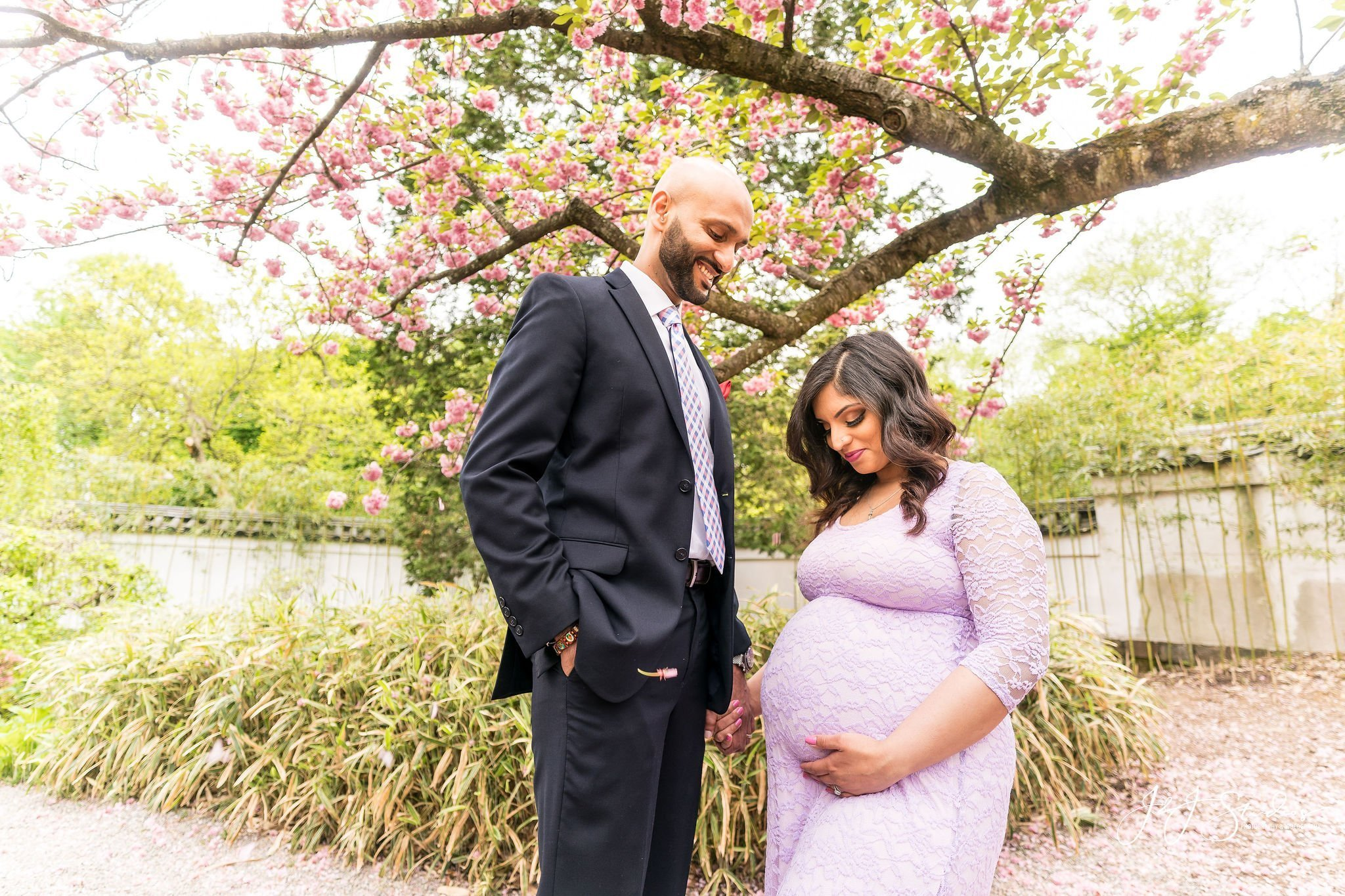 Shofuso house maternity shoot