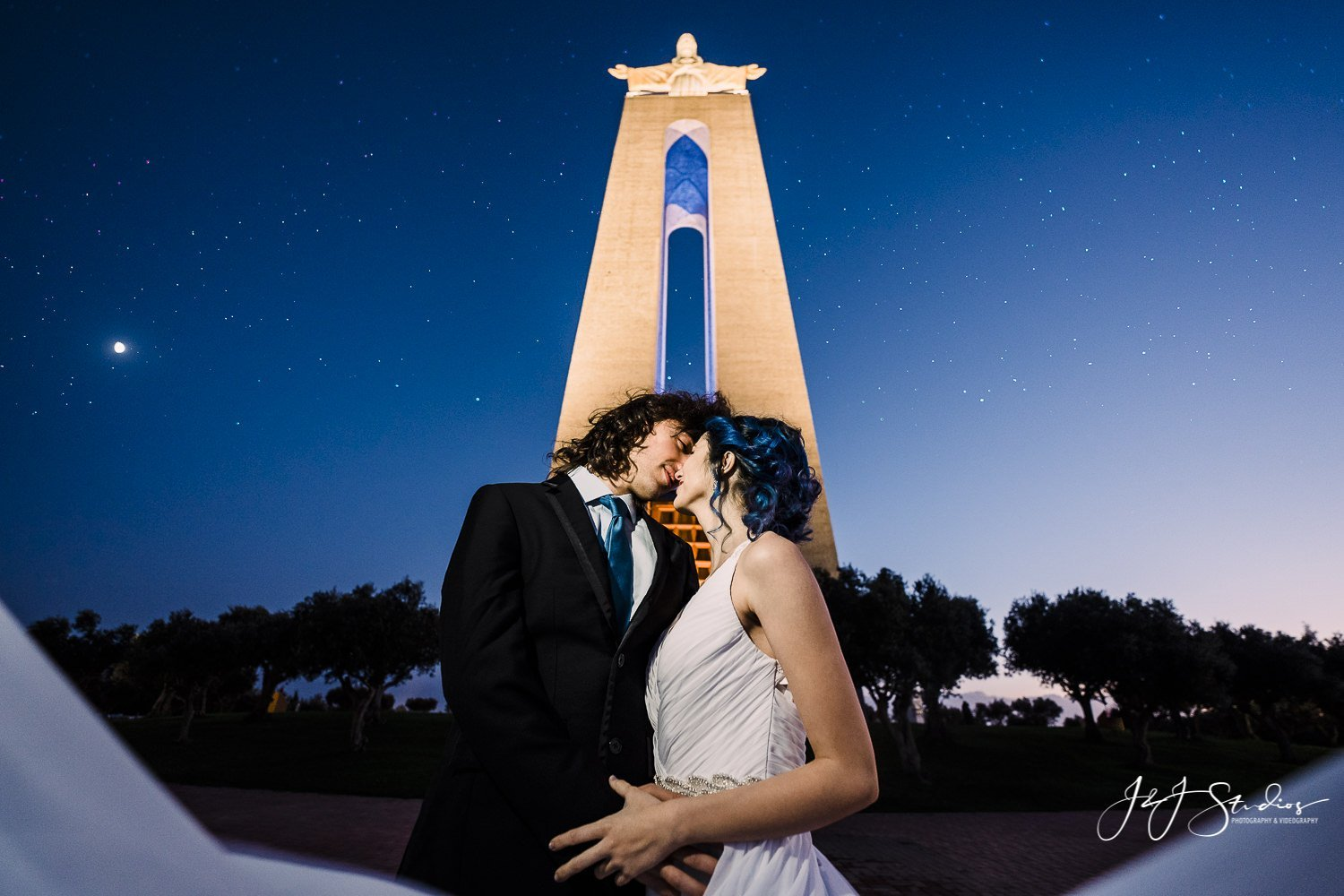 Sanctuary of Christ the King portugal wedding photographer