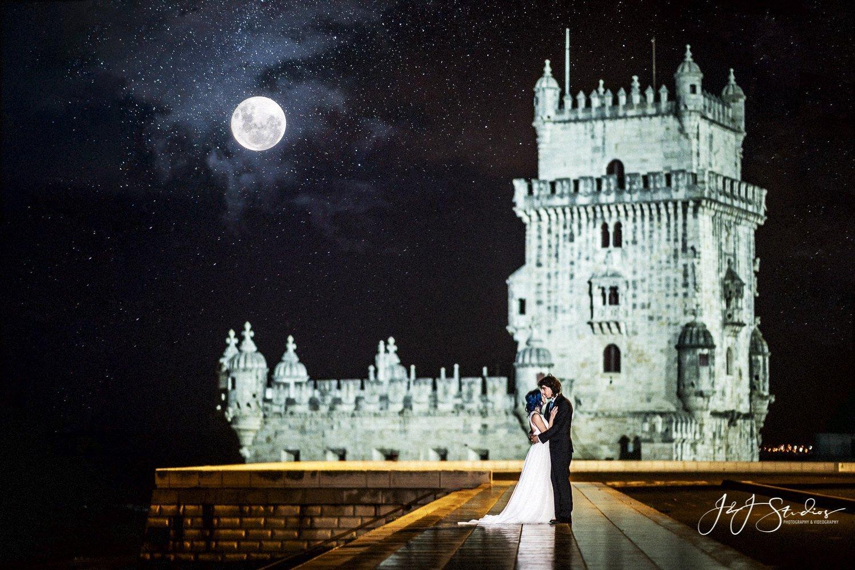 Belém Tower portugal wedding photographer