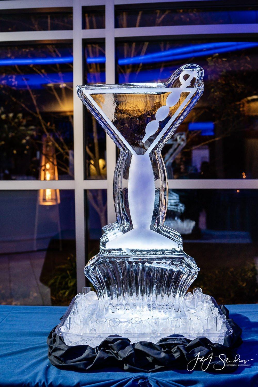 ice sculpture jess landau bat mitzvah