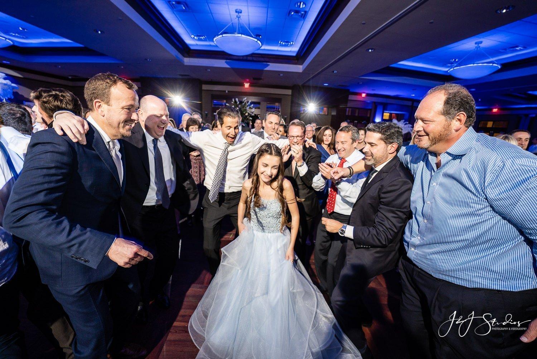 dancing NJ bat mitzvah photo by J&J Studios