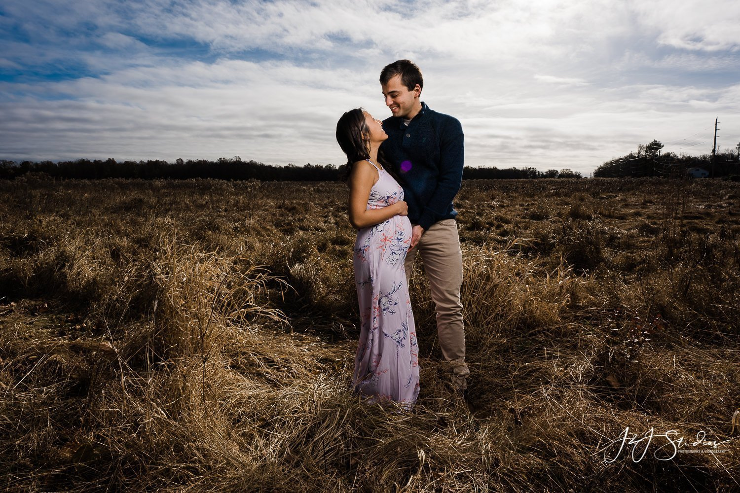 nic + cindy maternity shoot in new jersey