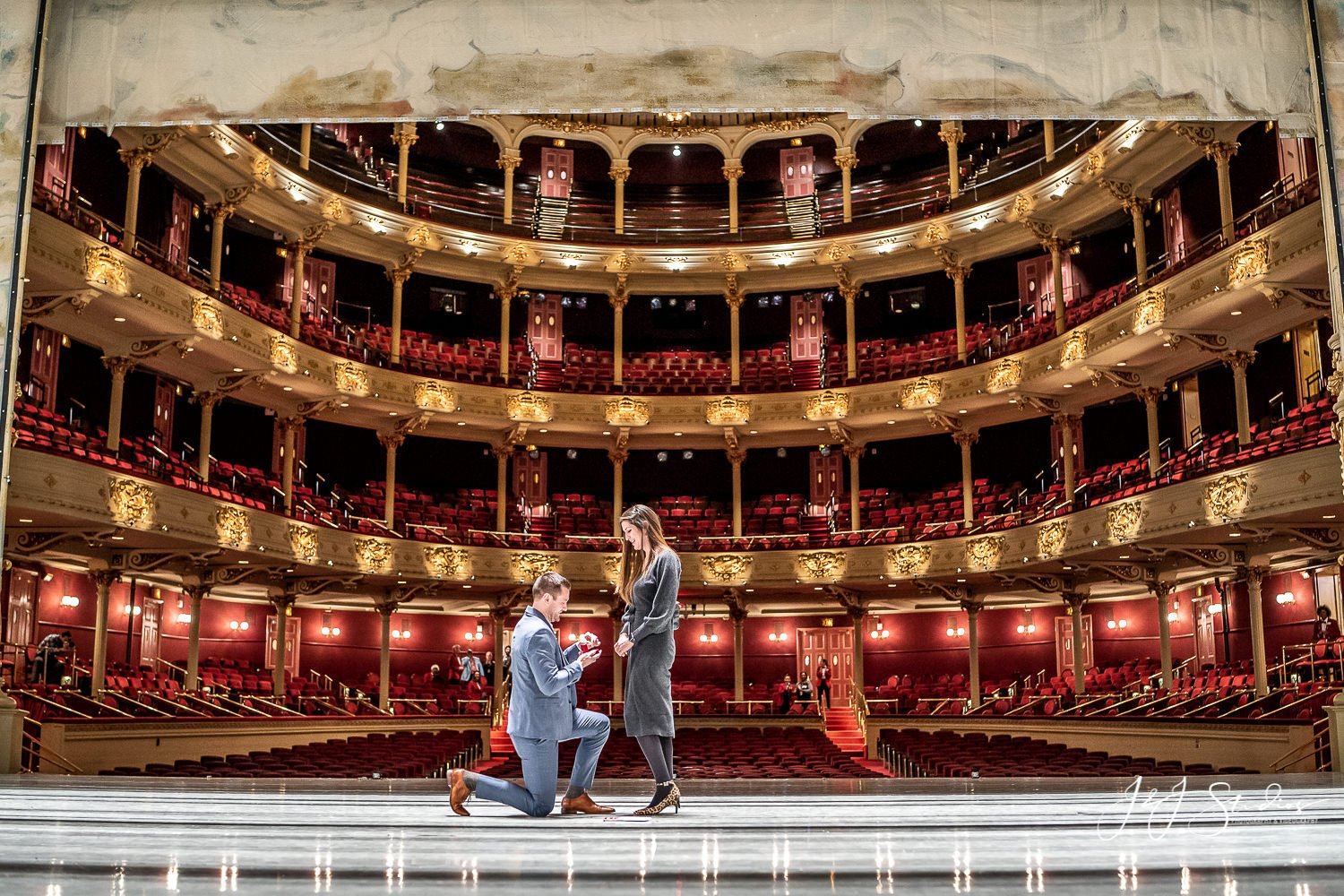 i said yes at the academy of music
