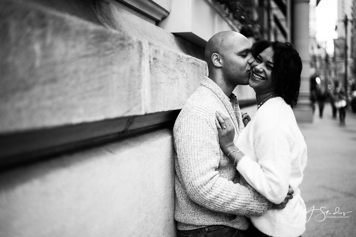 philly city hall engagement