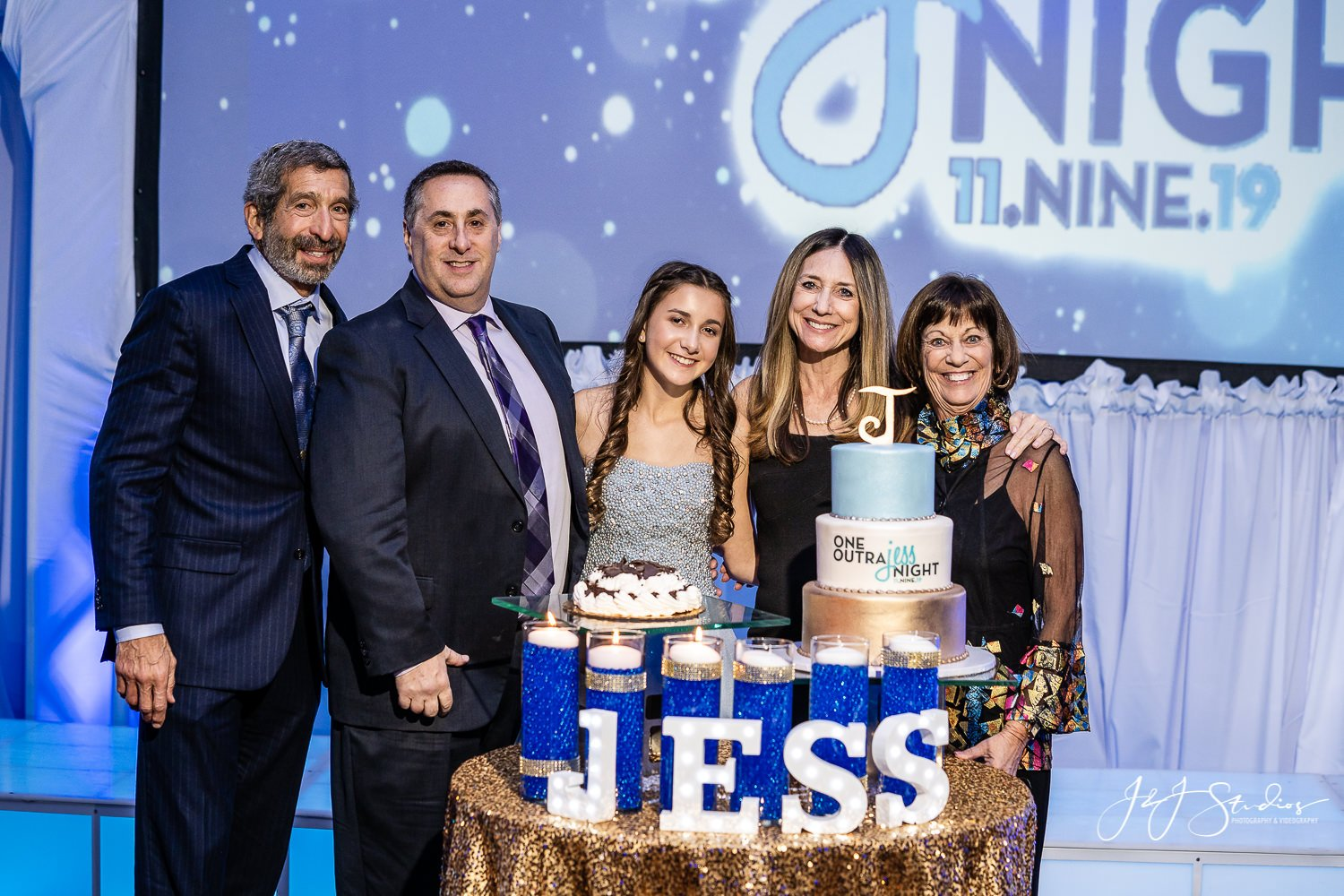 jess's bat mitzvah party in philly