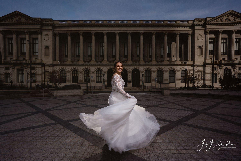 free library of philadelphia bride maggie sottero