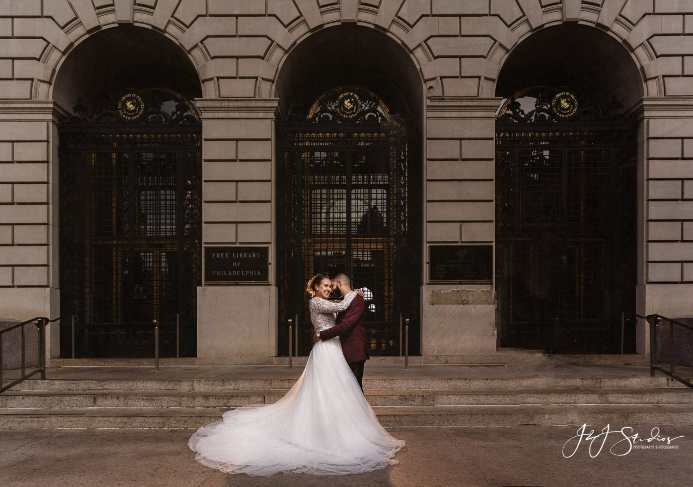 bridal portraits free library of philadelphia