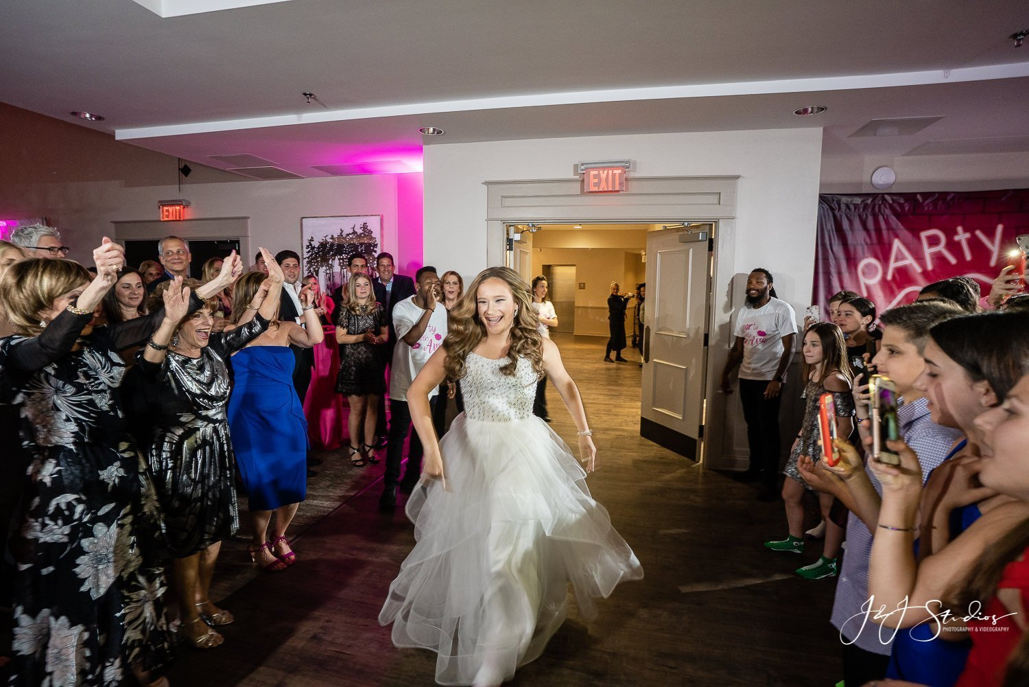 nj bat mitzvah grand entrance