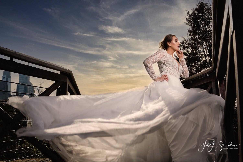 bijou bridal styled shoot