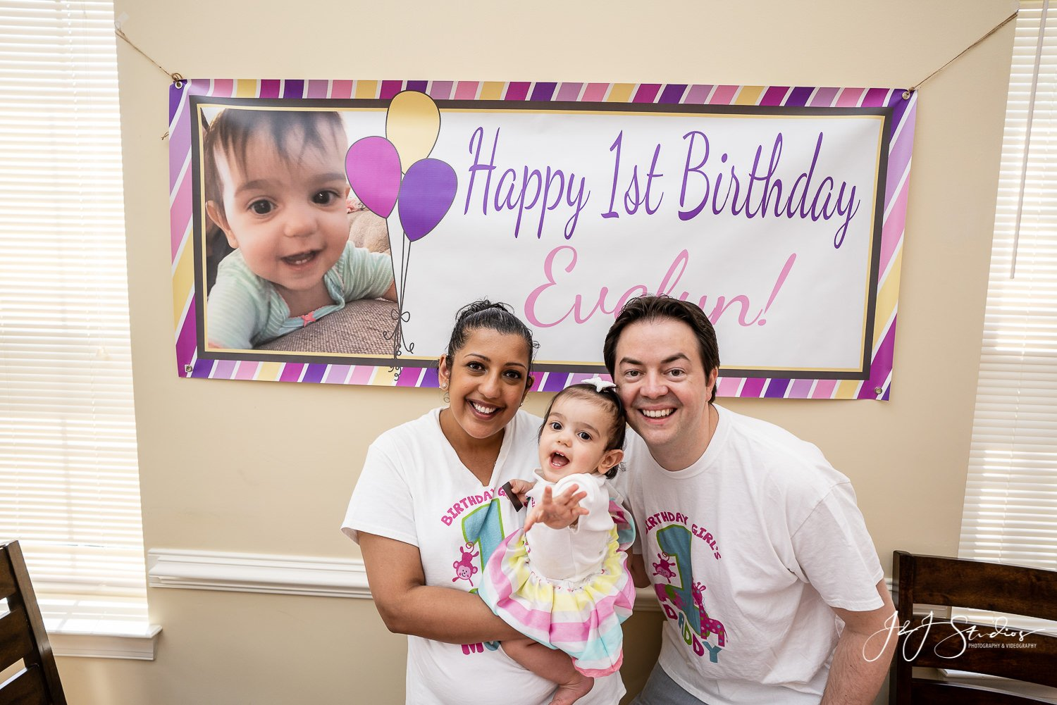 first birthday party photography philly