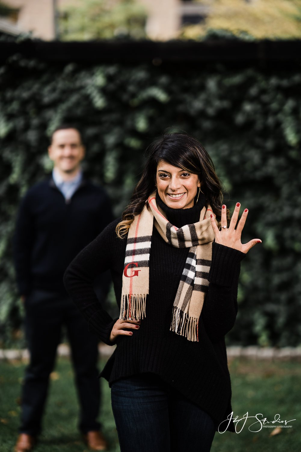 rittenhouse square engagement photo philly The Best Places to Propose in Philadelphia