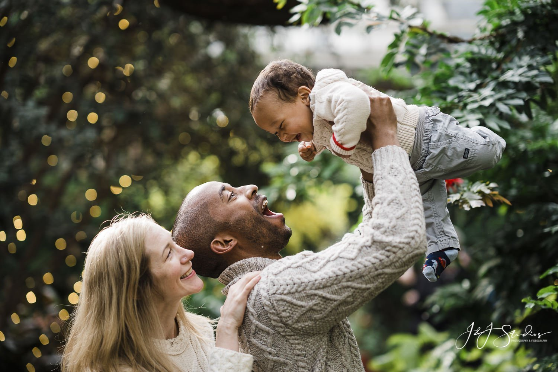 longwood gardens christmas family portraits