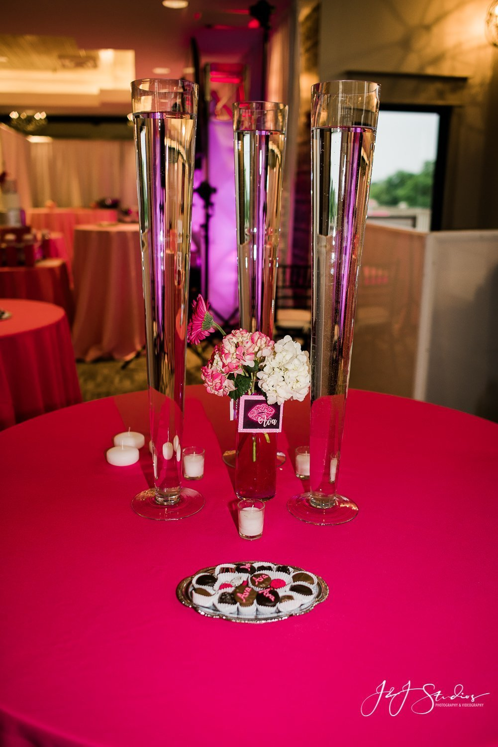 camden county bat mitzvah decor