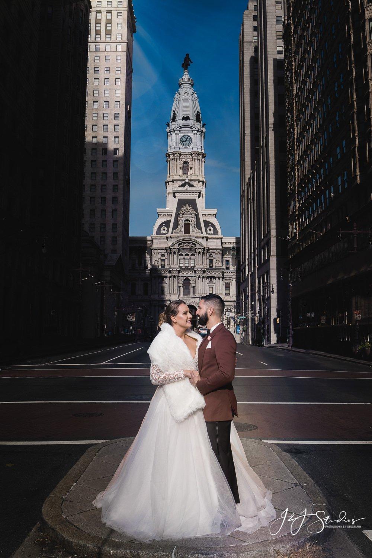 city hall broad street bride Bijou Bridal Styled Shoot