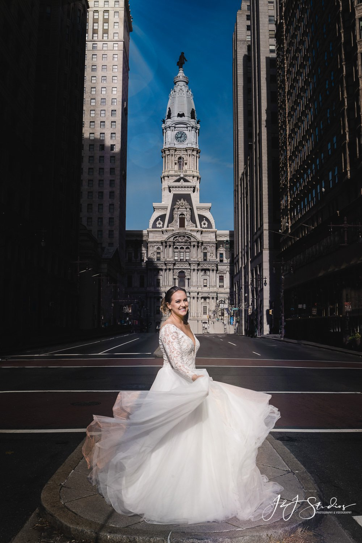 city hall broad street bride