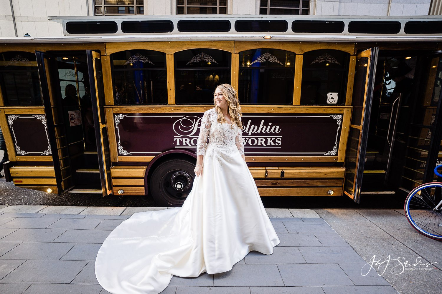 philadelphia trolley works bride