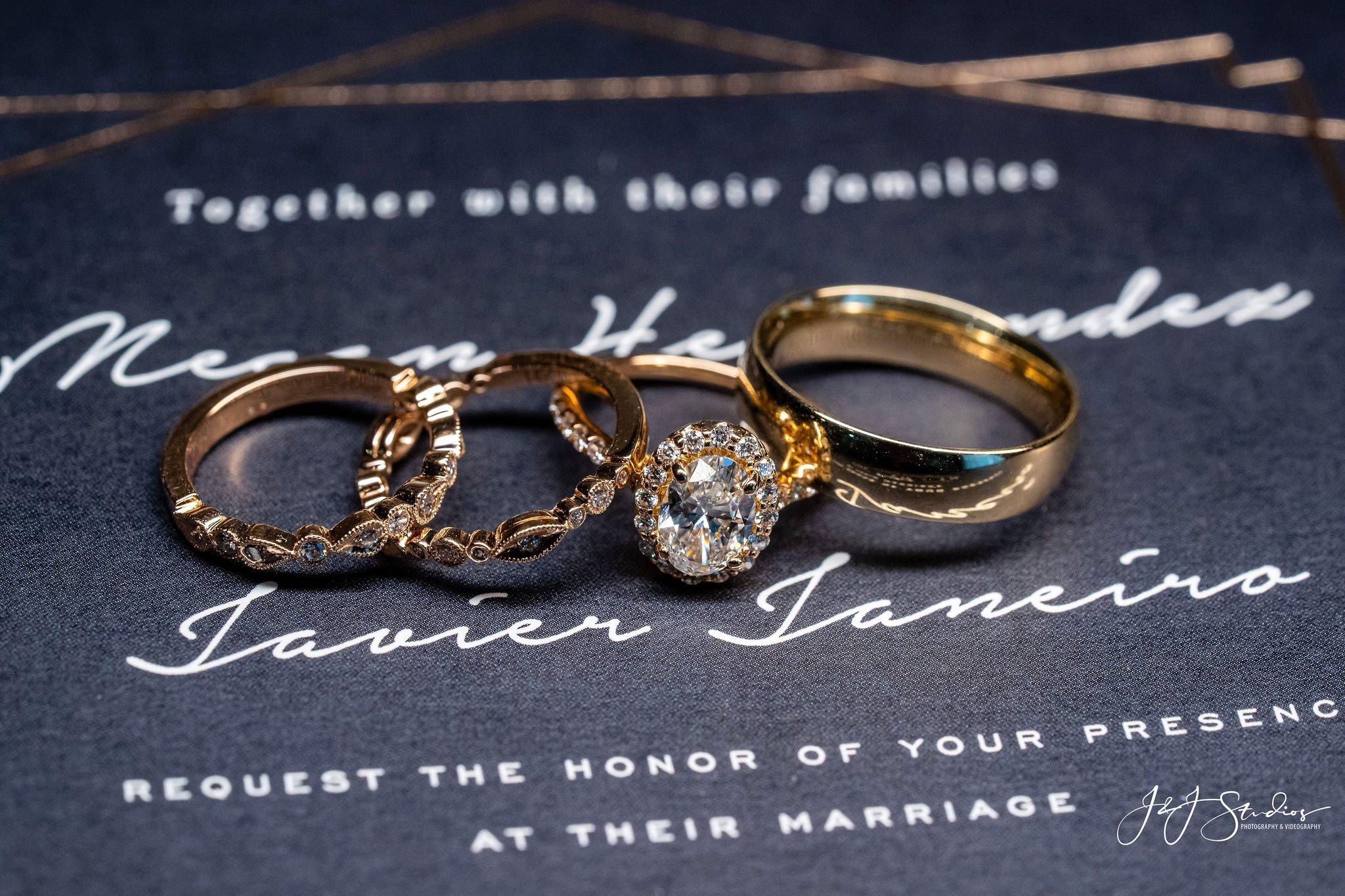 wedding rings hotel dupont