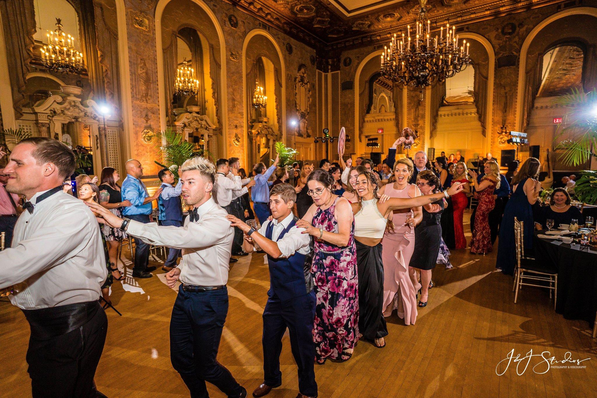 hotel dupont wedding reception