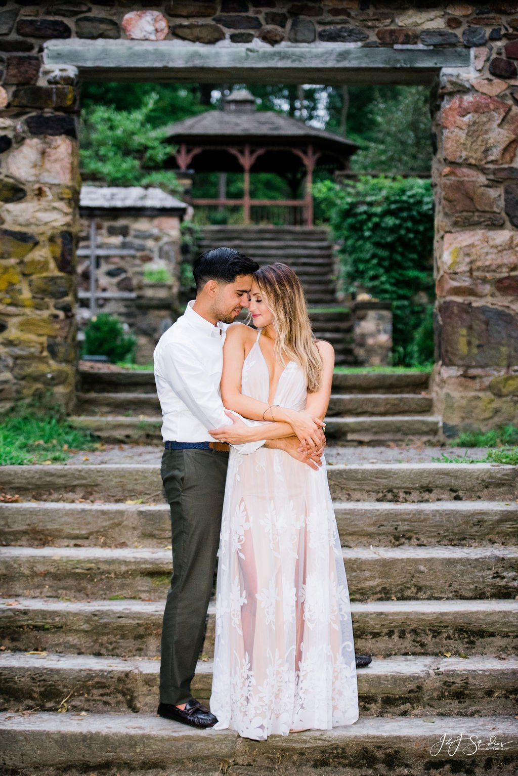 parque hunting hill mansion engagement