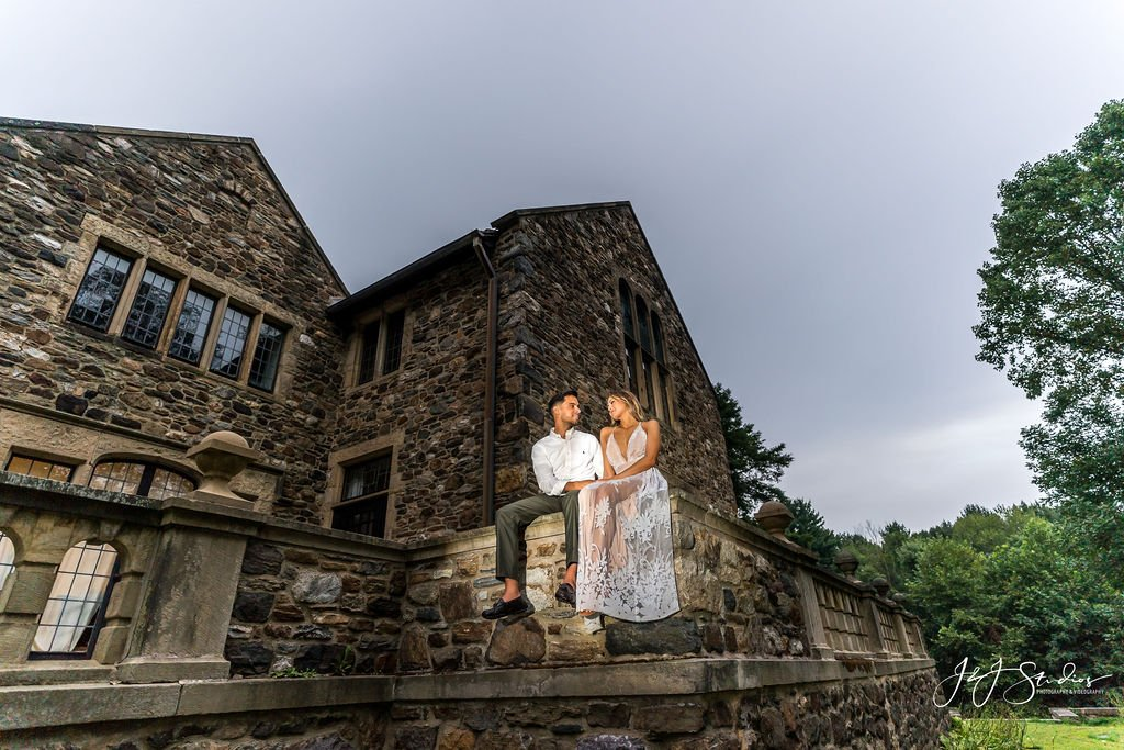 hunting hill mansion engagement shoot by john ryan