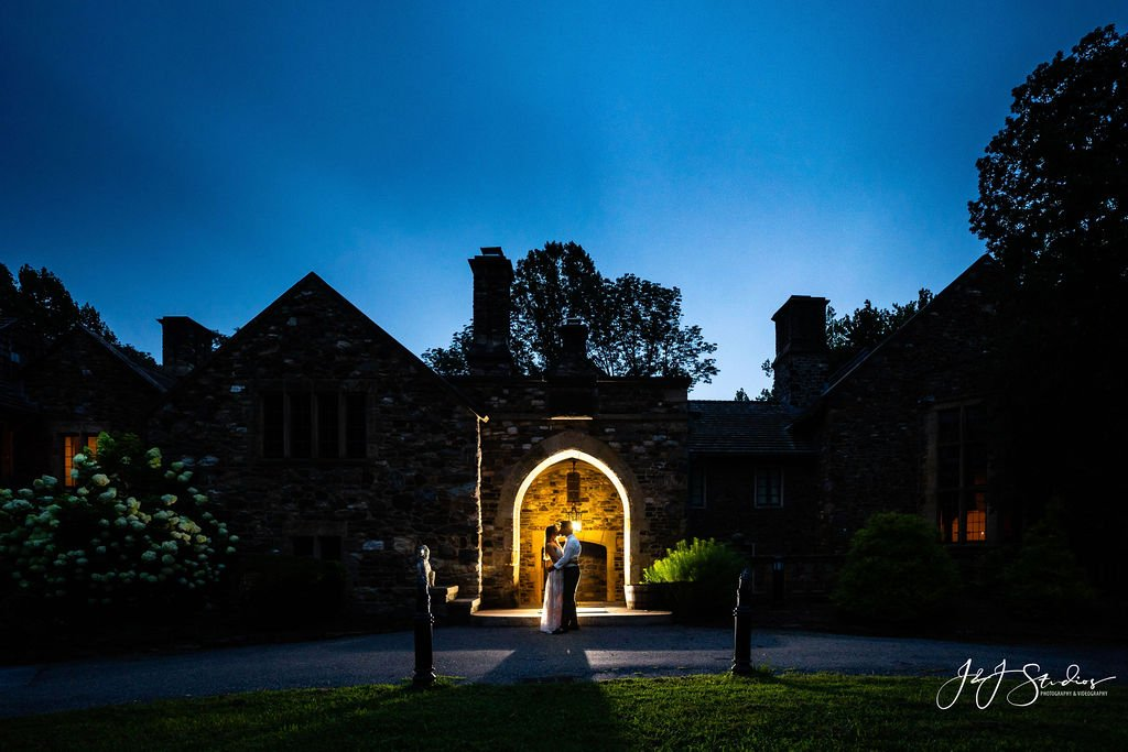 night engagement hunting hill mansion