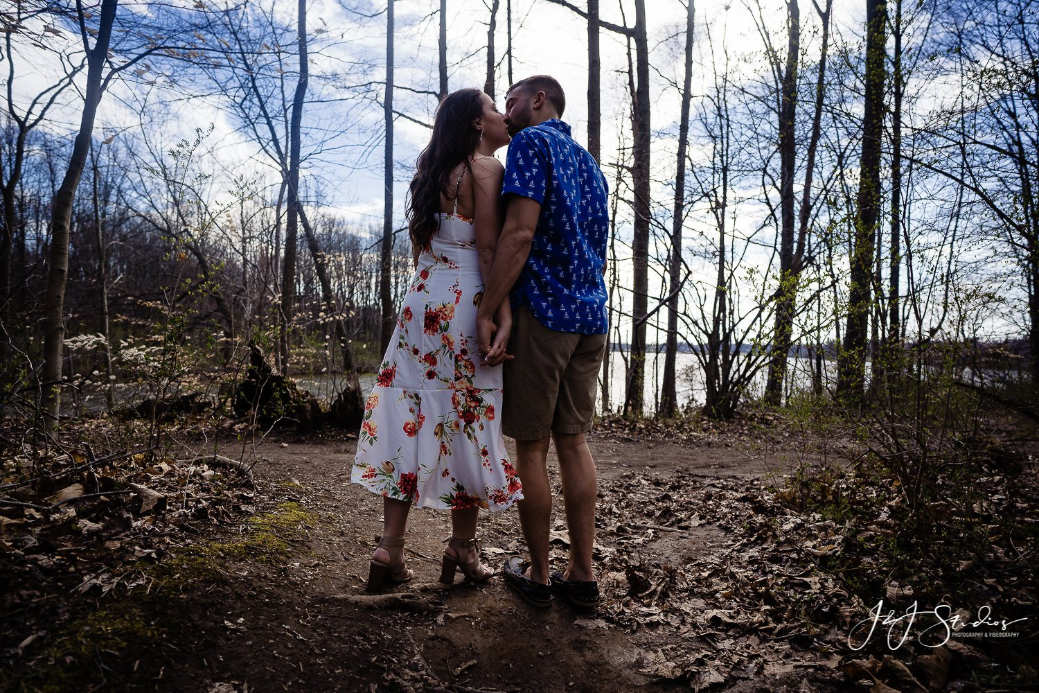 Core Creek Park Engagement Photo Session