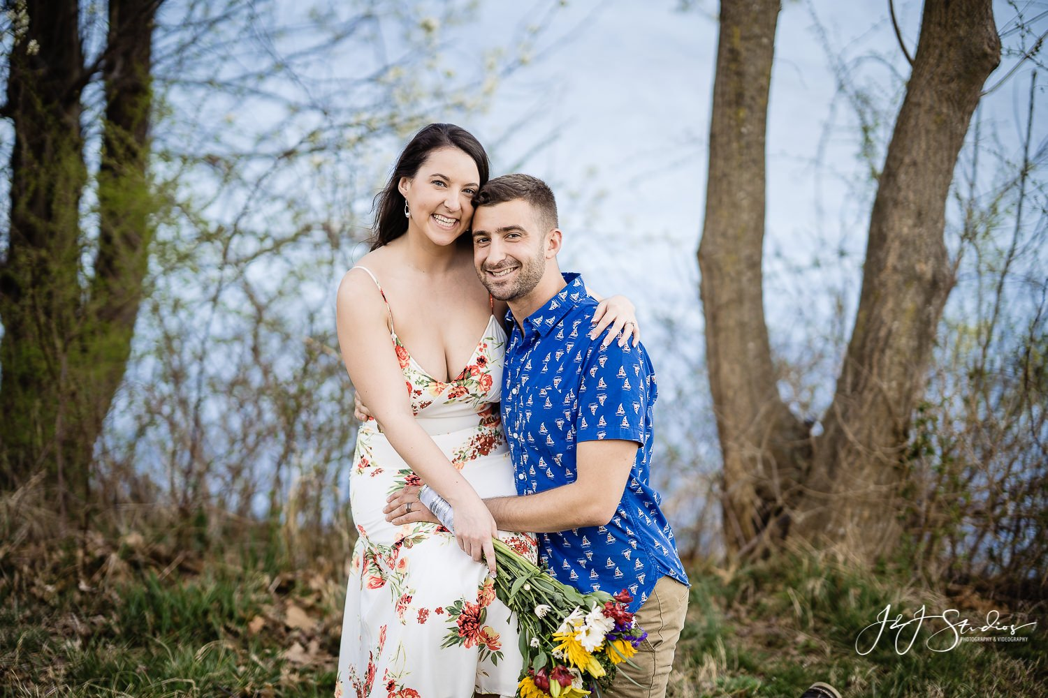 bucks county core creek park couples session