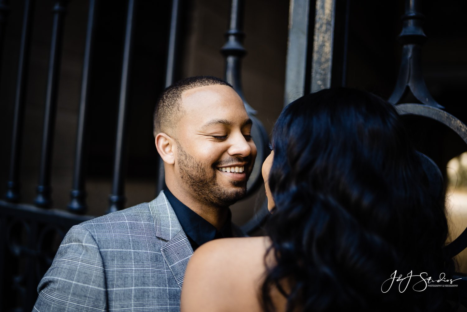 patience and anwar philadelphia city hall engagement