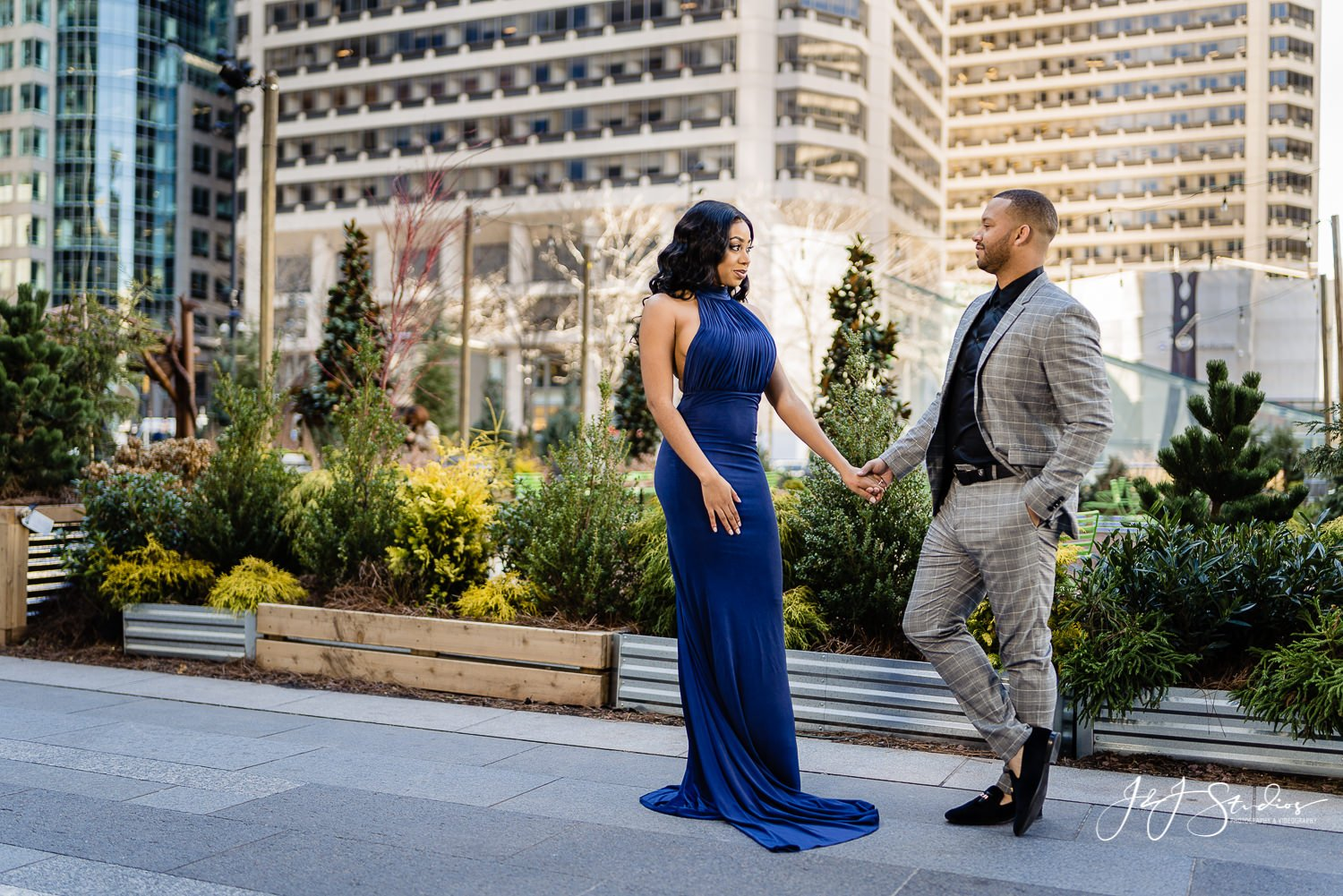 dilworth park engagement photographer