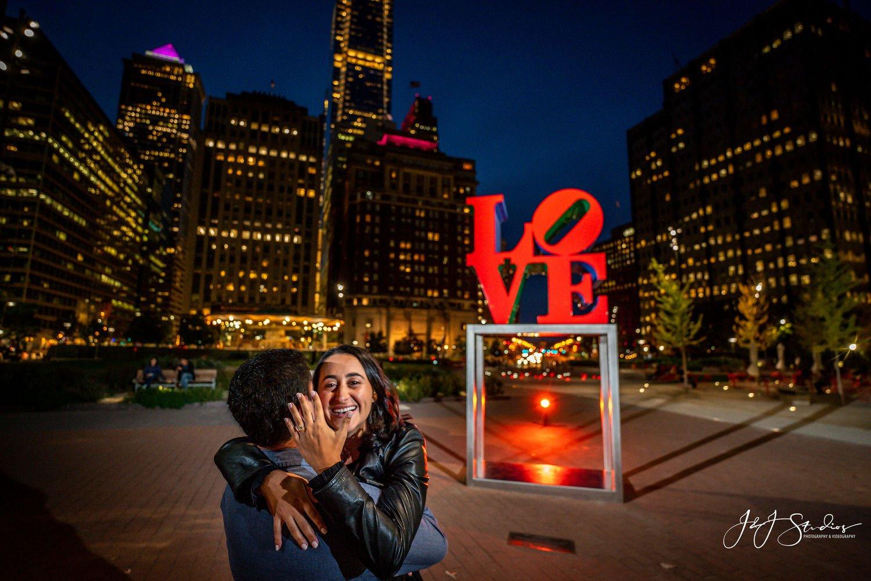 love park engagement