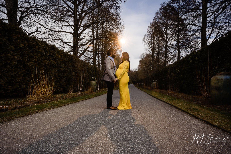 sunset maternity longwood gardens